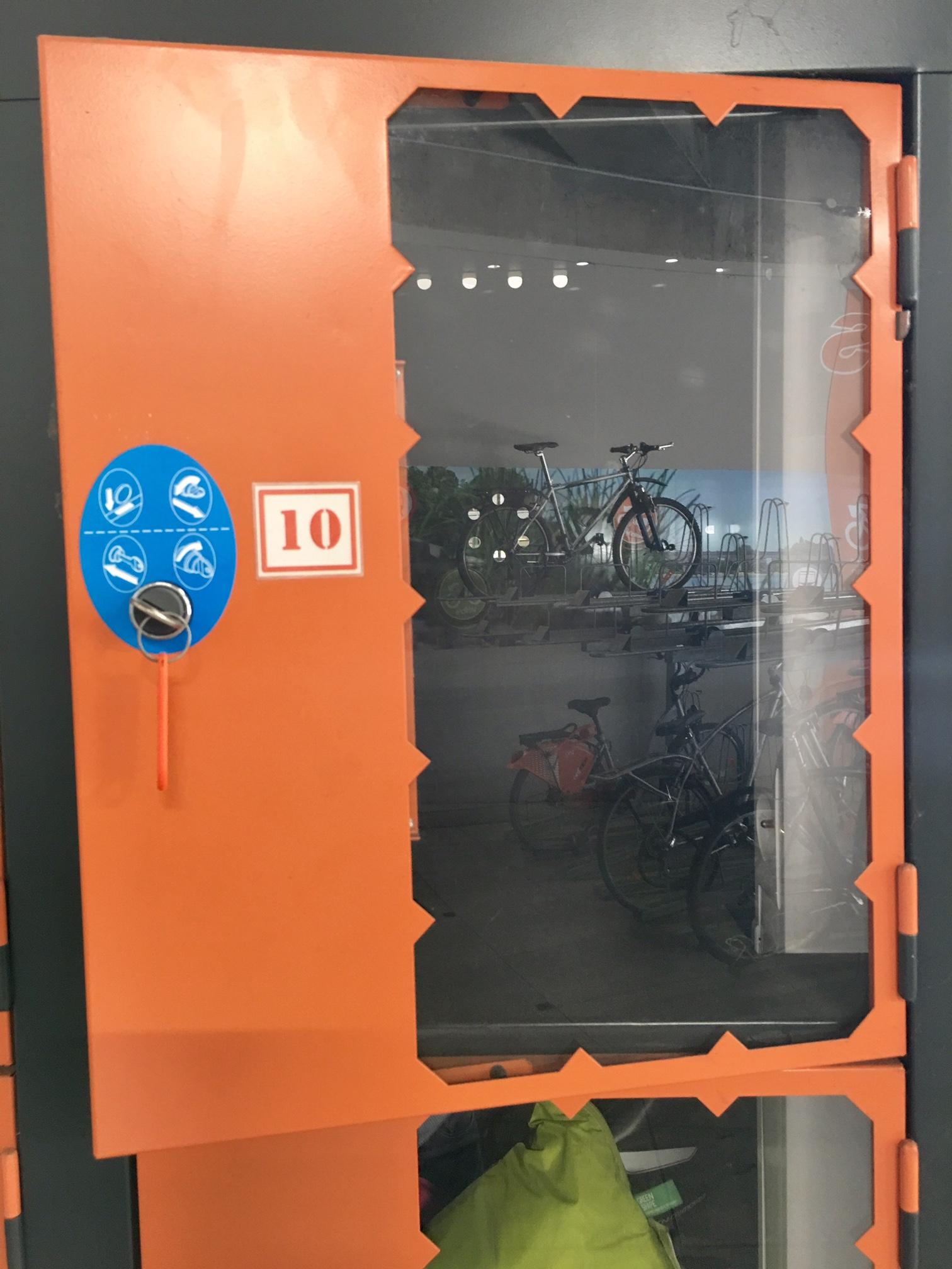 Casiers de recharge pour vélo