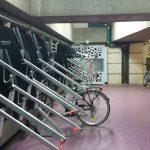 accroche vélo verticaux