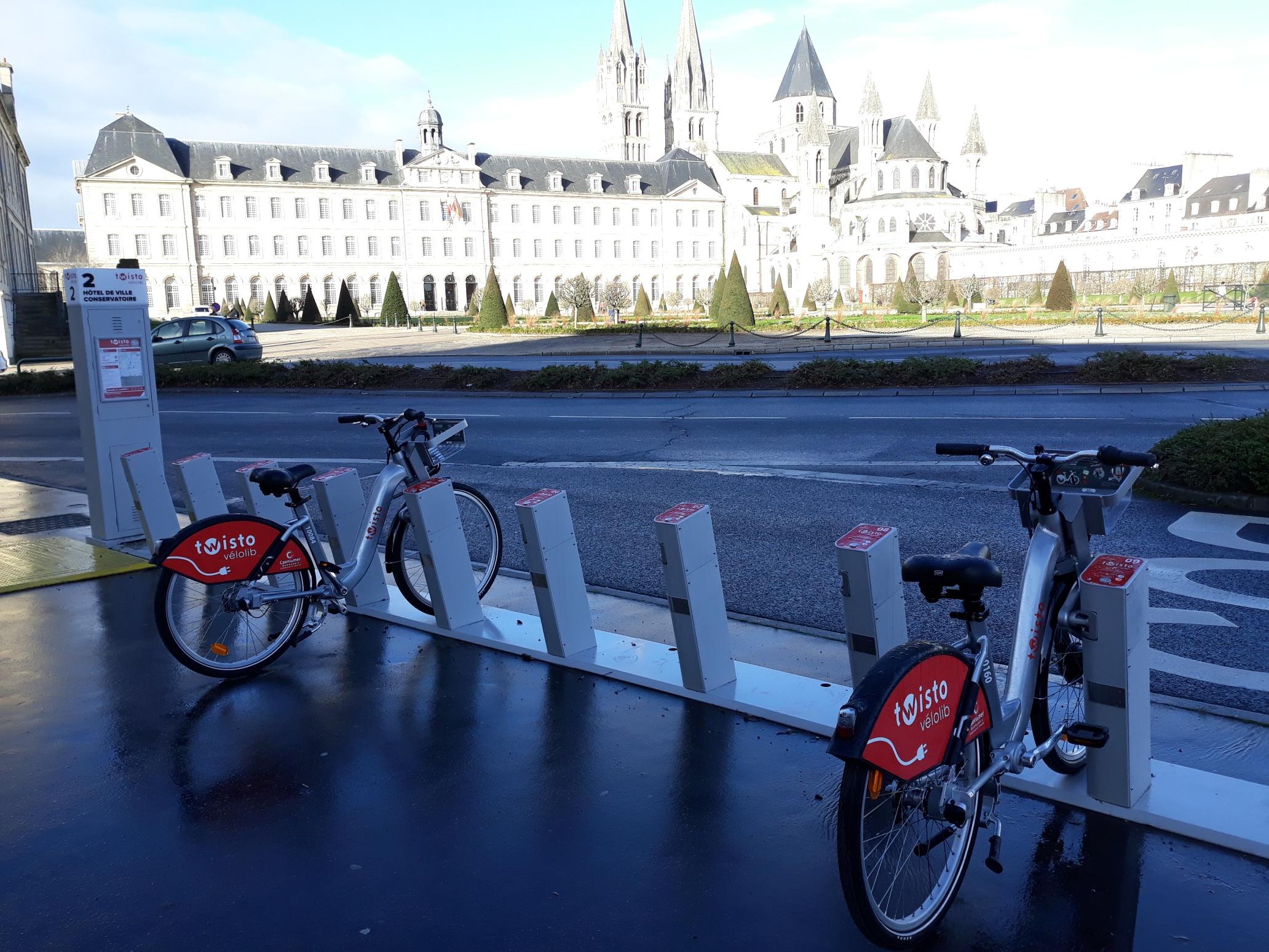 Vélos libre-service