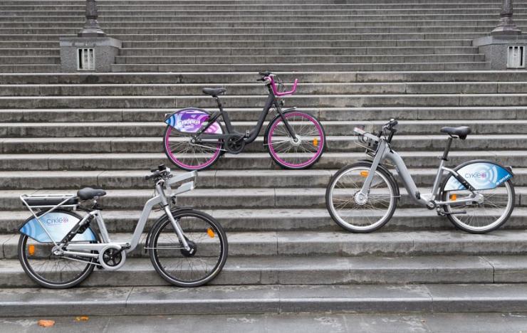 vélos Cykleo