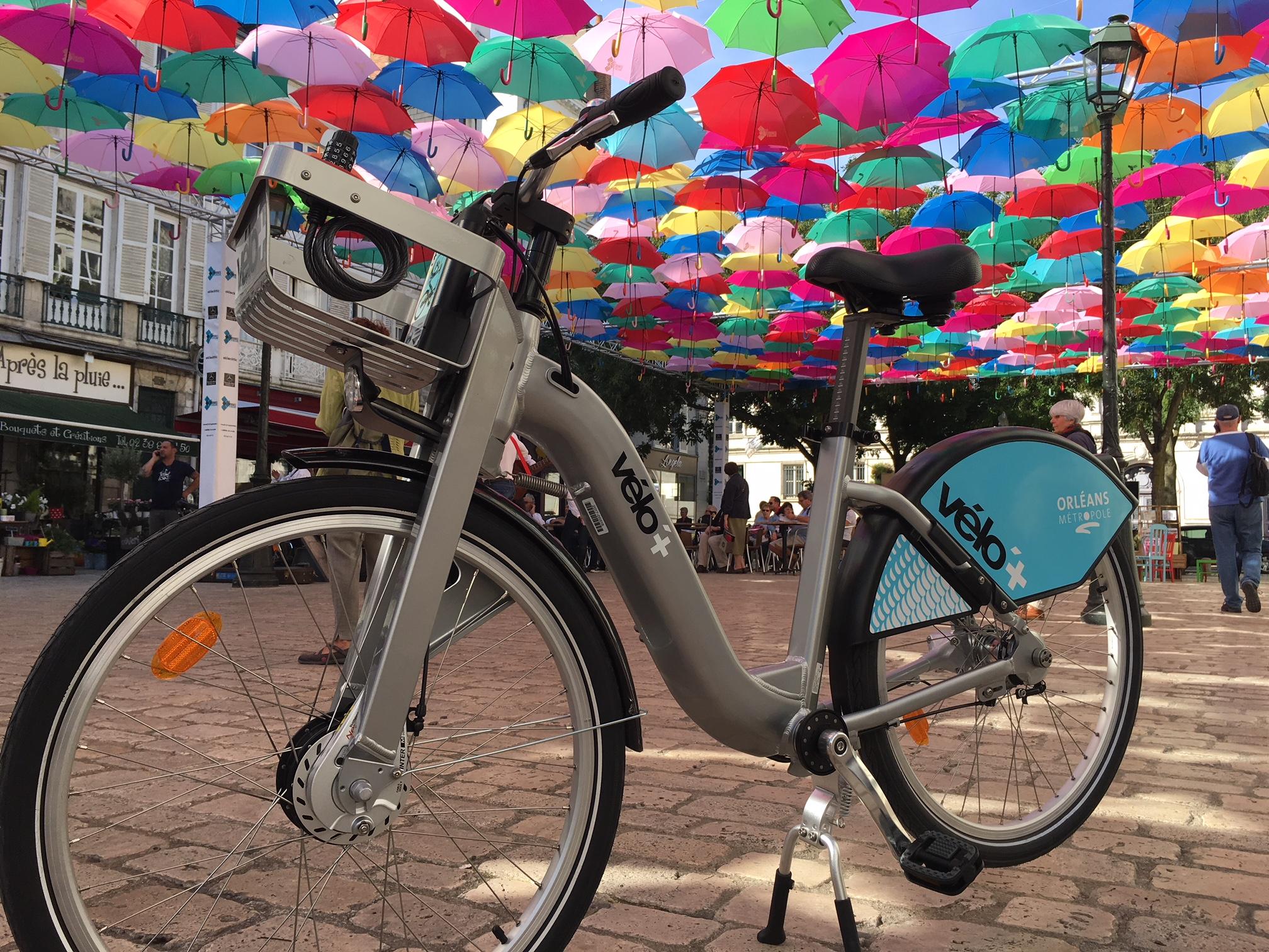 vélo libre-service électrique Orléans