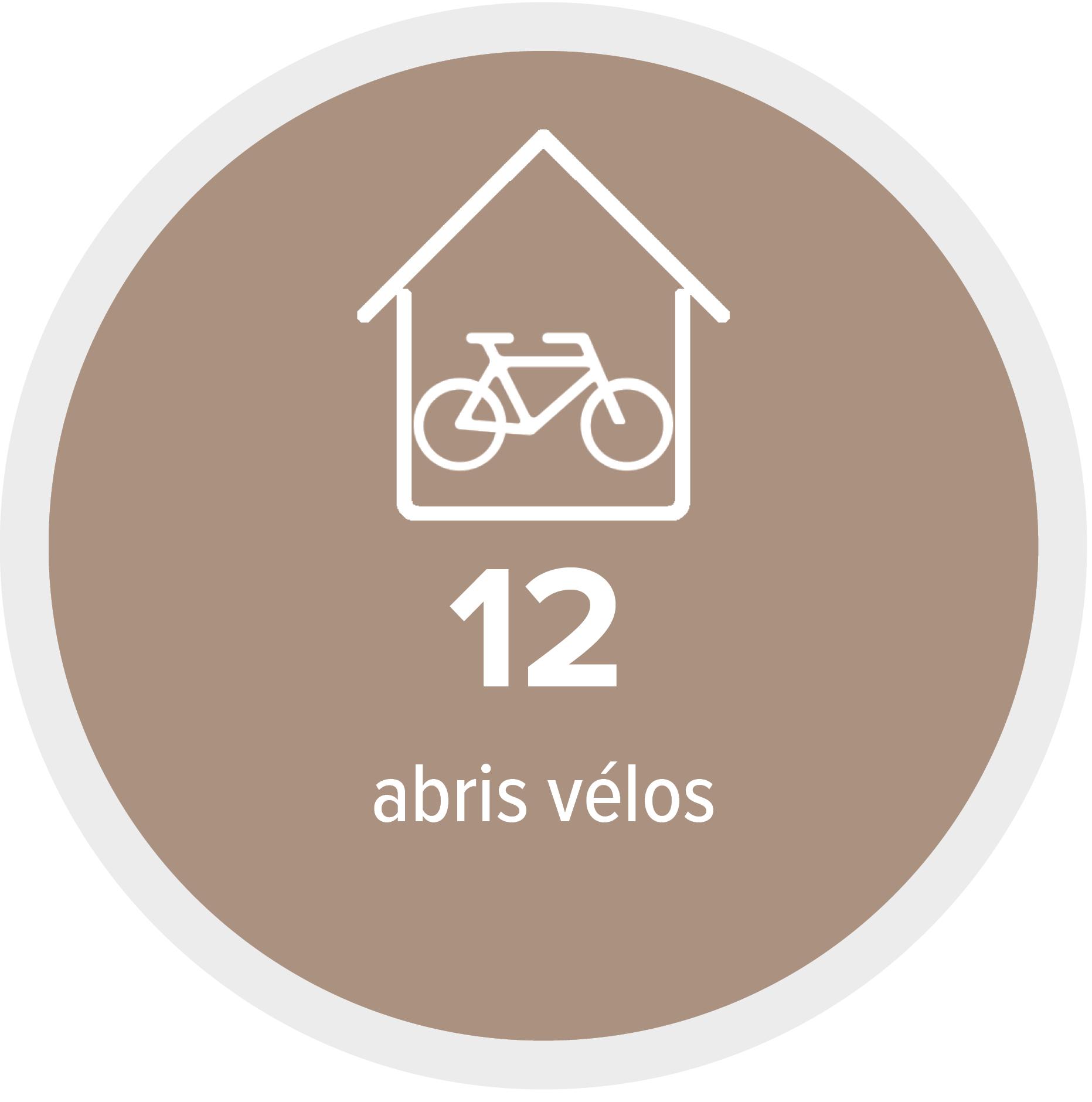 12 abris vélos