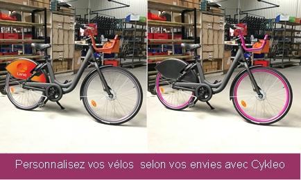 personnalisation vélos