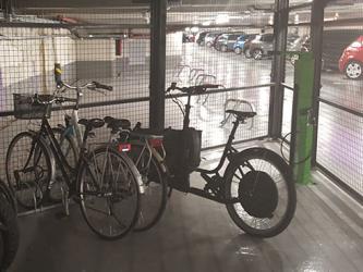SAEMS - borne entretien vélos (gonflage etc)