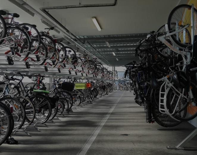 Découvrez nos équipements de stationnement vélos Cykleo'Park