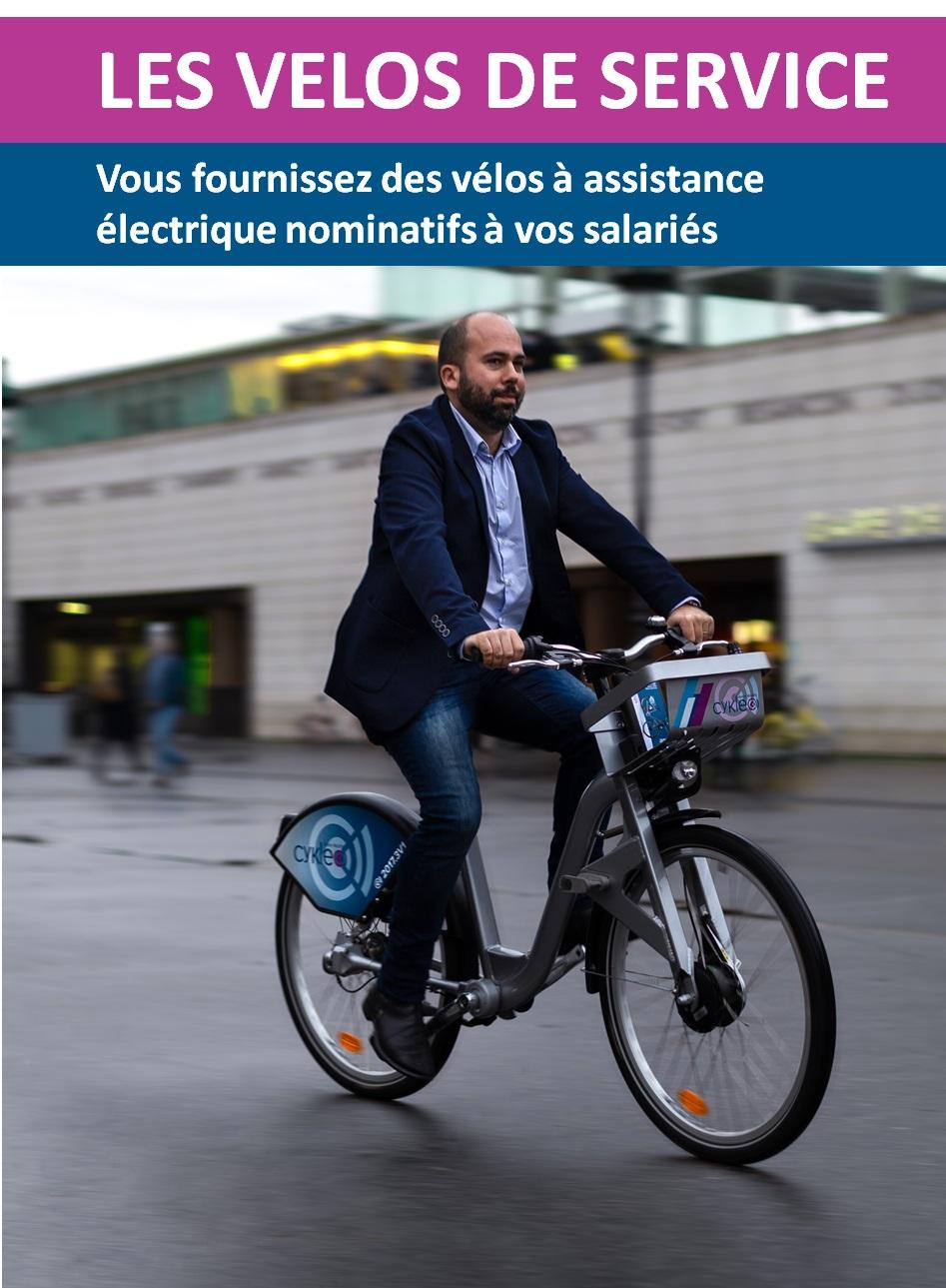 Vélos de service