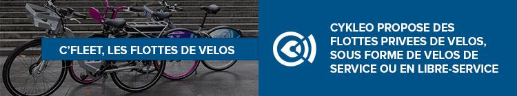 C'Fleet, les flottes de vélos