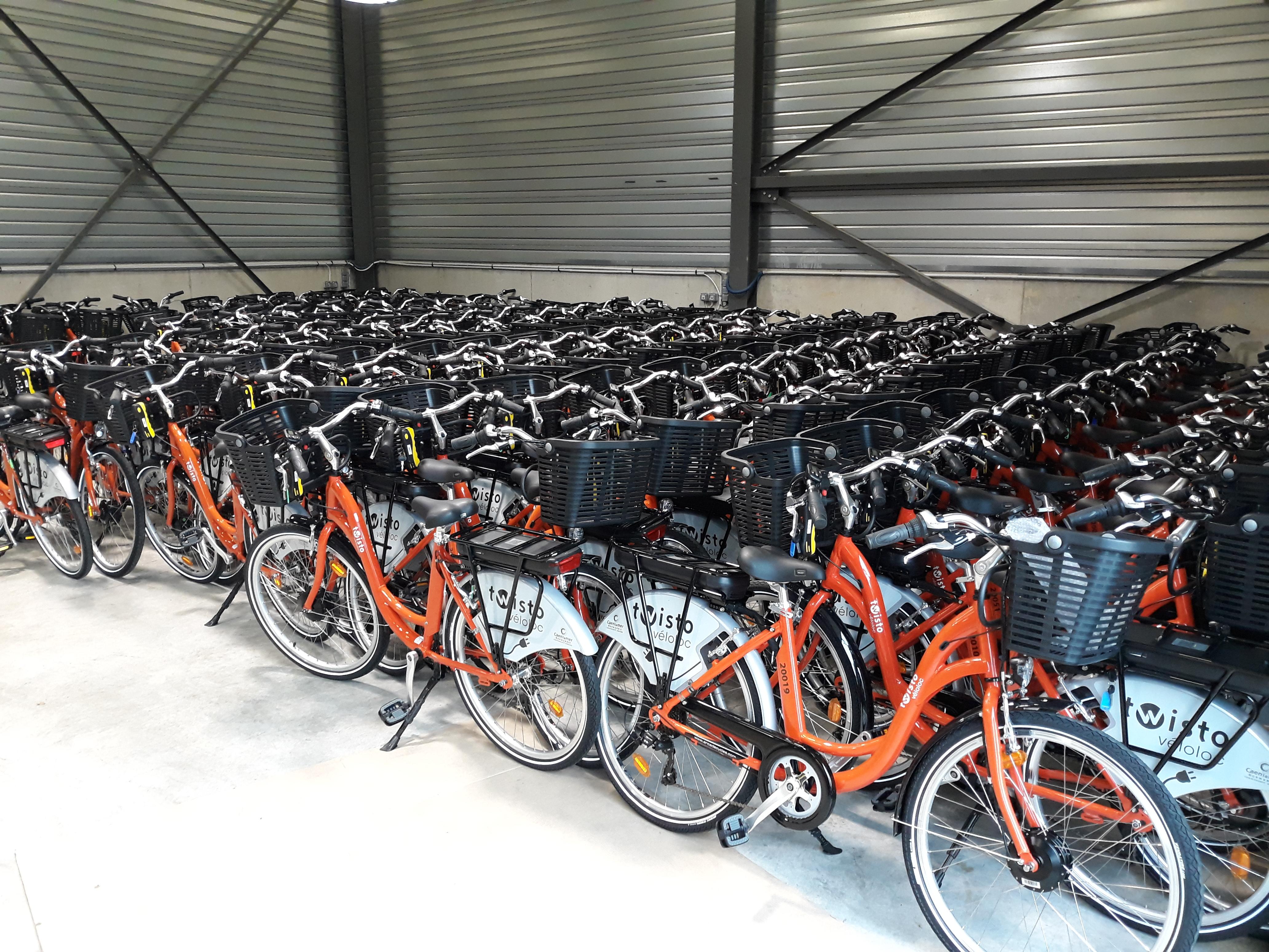 Vélos location